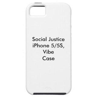 社会正義のiPhone 5/5S、Vibeの場合 iPhone SE/5/5s ケース