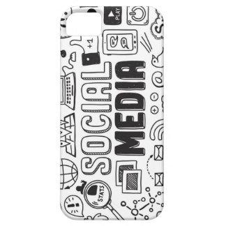 社会的な媒体のiPhone6ケース iPhone SE/5/5s ケース