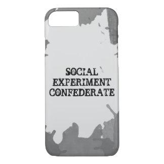 社会的な実験のiPhone 7の場合 iPhone 8/7ケース