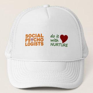 社会的な心理学者の帽子 キャップ
