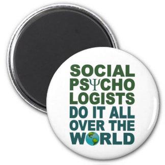 社会的な心理学者の磁石 マグネット