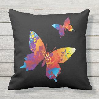 社会的な蝶屋外の枕 アウトドアクッション