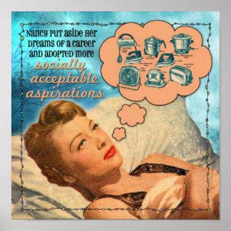 社会的に受諾可能な抱負 ポスター