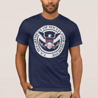 社会的ニされた薬の米国部 Tシャツ