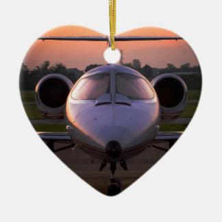 社有機の飛行機旅行 セラミックオーナメント