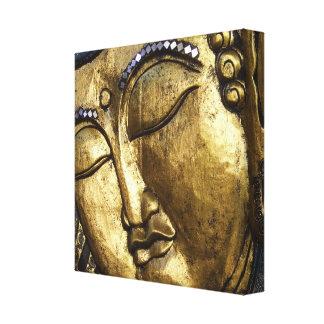 祈っている金仏天恵のキャンバスをめい想します キャンバスプリント