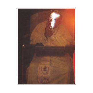 祈りの言葉のヨハネ・パウロ キャンバスプリント