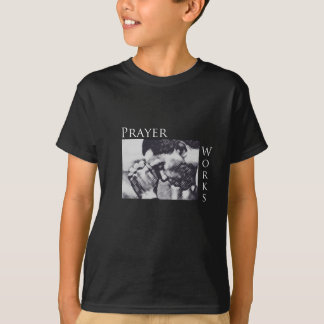 祈りの言葉の仕事-バラック・オバマ Tシャツ