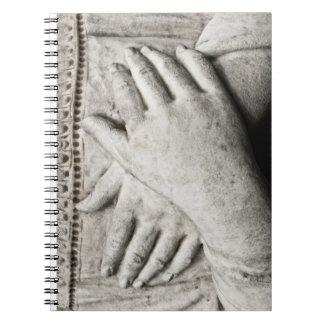 祈りの言葉の手 ノートブック