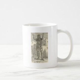 祈りの言葉の村落のインディアン コーヒーマグカップ