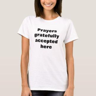 祈りの言葉のAccepterのTシャツ Tシャツ