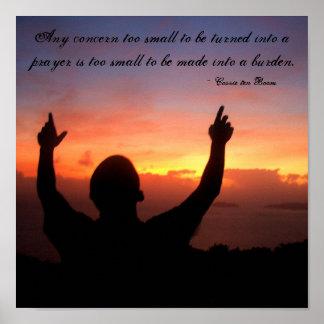 祈りの言葉を選んで下さい ポスター