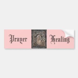 祈りの言葉及び治療 バンパーステッカー