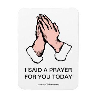 祈りの言葉手の屈曲の磁石 マグネット