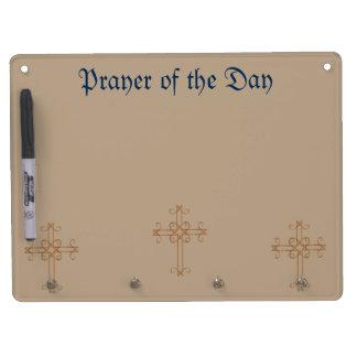 祈りの言葉板 キーホルダーフック付きホワイトボード