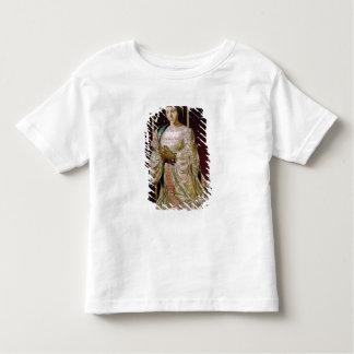 祈りの言葉1520-22年のカスティリャのイザベラ トドラーTシャツ