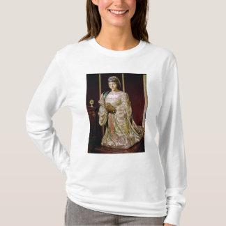 祈りの言葉1520-22年のカスティリャのイザベラ Tシャツ
