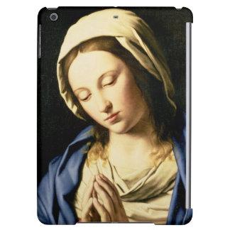 祈りの言葉(キャンバスの油)のマドンナ iPad AIRケース