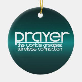 祈りの言葉 セラミックオーナメント