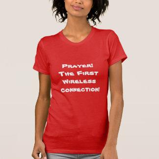 祈りの言葉、最初無線connecのtion、ワイシャツ tシャツ