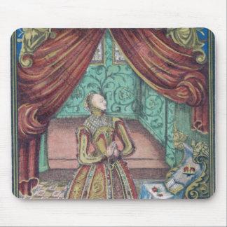 祈りの言葉、frontispieceのエリザベス女王一世 マウスパッド