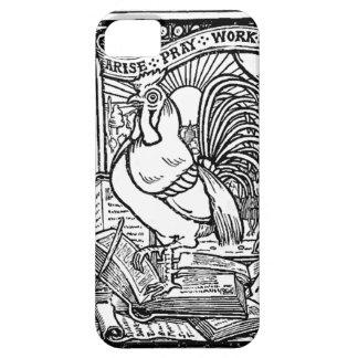 祈ります仕事の感動的なiPhone 5の場合を起こって下さい iPhone SE/5/5s ケース