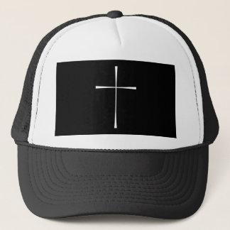 祈祷書の十字の白 キャップ