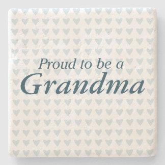 祖母があること誇りを持った! ストーンコースター