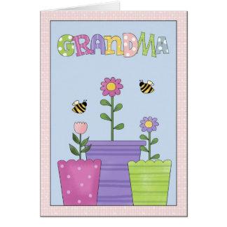 祖母のすべての行事の挨拶状 グリーティングカード