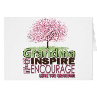 祖母のためのギフト グリーティングカード