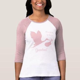祖母のための妊娠Annoucement Tシャツ