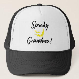 祖母のための気味悪いこうもりハロウィン キャップ