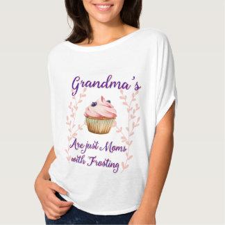 祖母のつや消しのタイポグラフィ Tシャツ