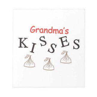 祖母のキス ノートパッド