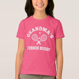 祖母のテニスの相棒 Tシャツ