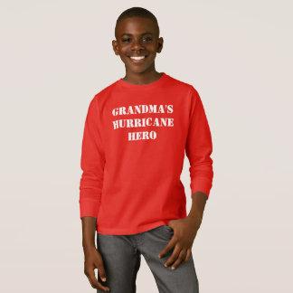 祖母のハリケーンの英雄 Tシャツ