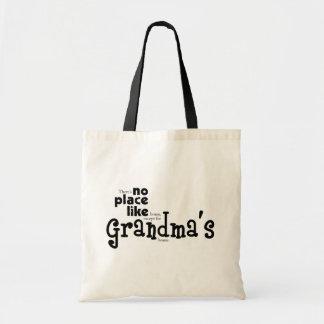 祖母のバッグのような場所無し トートバッグ