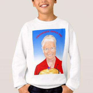 祖母のパイ スウェットシャツ