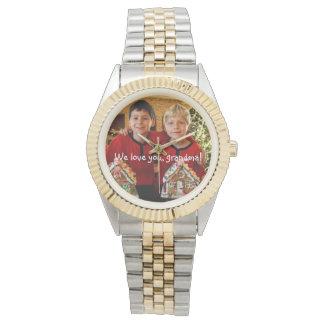 祖母のブレスレットの腕時計のための名前入りなギフト 腕時計