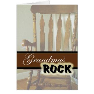 祖母のロック幸せな祖父母日 カード