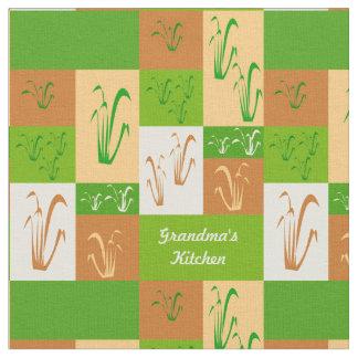 祖母の台所秋の草 ファブリック