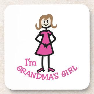祖母の女の子 コースター