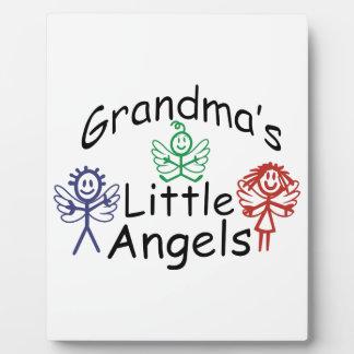 祖母の小さい天使 フォトプラーク