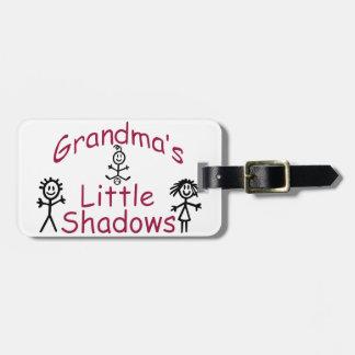 祖母の小さい影 ラゲッジタグ
