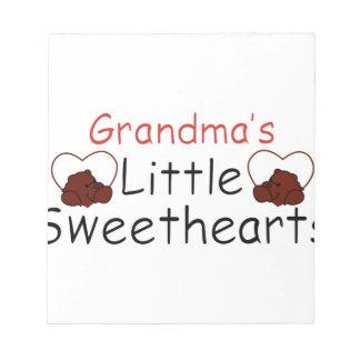 祖母の小さい恋人 ノートパッド