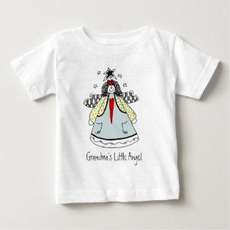 祖母の少し天使 ベビーTシャツ