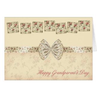 祖母の幸せな祖父母の日の挨拶状との カード