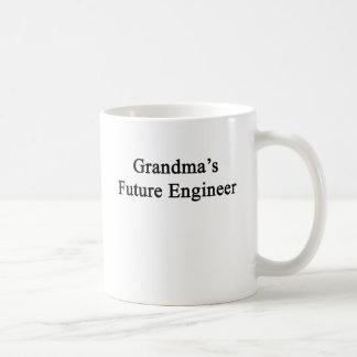 祖母の未来のエンジニア コーヒーマグカップ