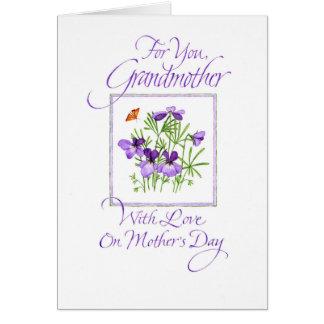 祖母の母の日 グリーティングカード