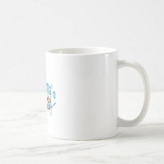 祖母の男の子 コーヒーマグカップ